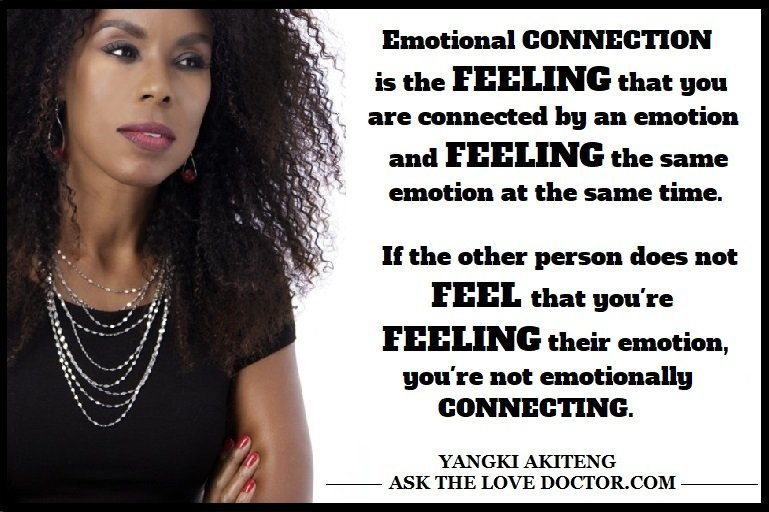 Emotional Connection Is Feeling The Same Emotion